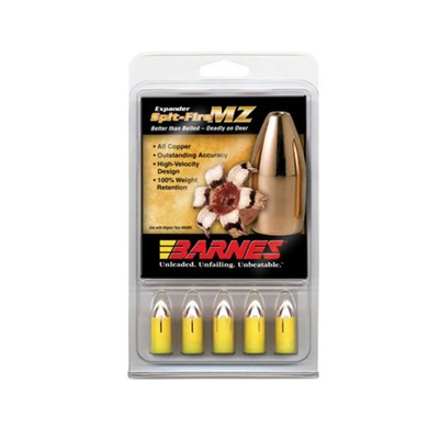 Click here to buy Barnes Spit-Fire Mz Bullets by Barnes Bullets.