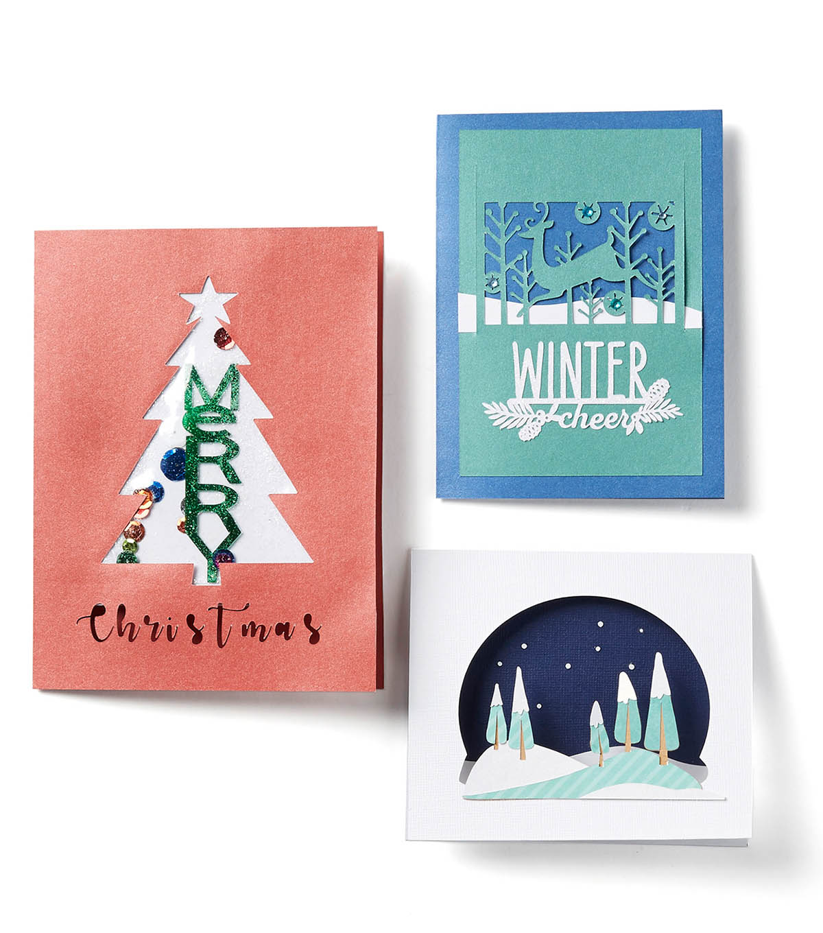 How To Make Cricut Christmas Cards