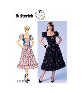 1950s Sewing Patterns | Swing and Wiggle Dresses, Skirts 50s Peasant Dress Patterns $11.97 AT vintagedancer.com