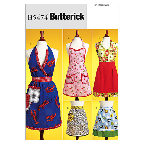 Vintage Aprons, Retro Aprons, Old Fashioned Aprons & Patterns Aprons Pattern $10.77 AT vintagedancer.com