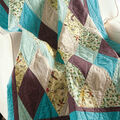 Diamonds Quilt free pattern