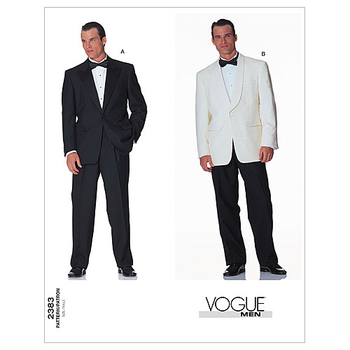 Men's Vintage Reproduction Sewing Patterns   AT vintagedancer.com