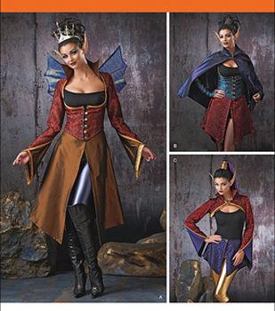 Steampunk Sewing Patterns- Dresses, Coats, Plus Sizes, Men's Patterns Simplicity Patterns Us1873H5-Simplicity Misses Dresses-6-8-10-12-14 $11.97 AT vintagedancer.com
