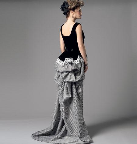 Steampunk Sewing Patterns- Dresses, Coats, Plus Sizes, Men's Patterns Simplicity Patterns 1819-Misses Steampunk Costume $11.97 AT vintagedancer.com