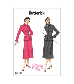 1950s Sewing Patterns | Swing and Wiggle Dresses, Skirts 1950 Suit $11.97 AT vintagedancer.com