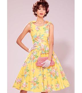1950s Sewing Patterns | Swing and Wiggle Dresses, Skirts Vogue Patterns Misses Dress-V8997 $11.97 AT vintagedancer.com