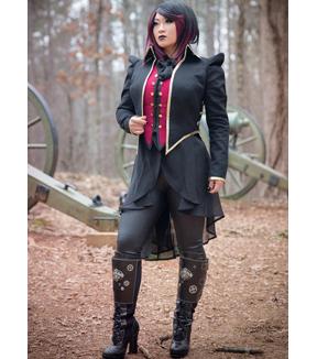 Steampunk Sewing Patterns- Dresses, Coats, Plus Sizes, Men's Patterns Butterick Pattern B4486 Adult Historical Costumes-Size S-M-L $13.17 AT vintagedancer.com
