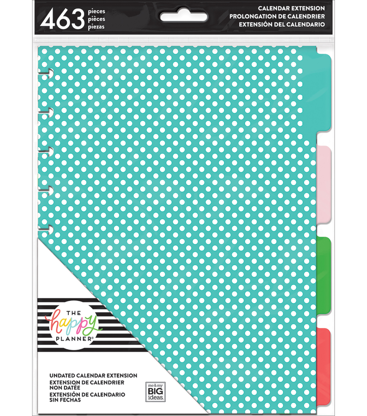 The Happy Planner Monthly Calendar Extension Classic              The Happy Planner Monthly Calendar Extension Classic by The Happy Planner