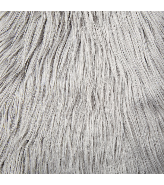 "Fashion Faux Husky Fur Fabric 57"" Grey              Fashion Faux Husky Fur Fabric 57"" Grey by Joann"