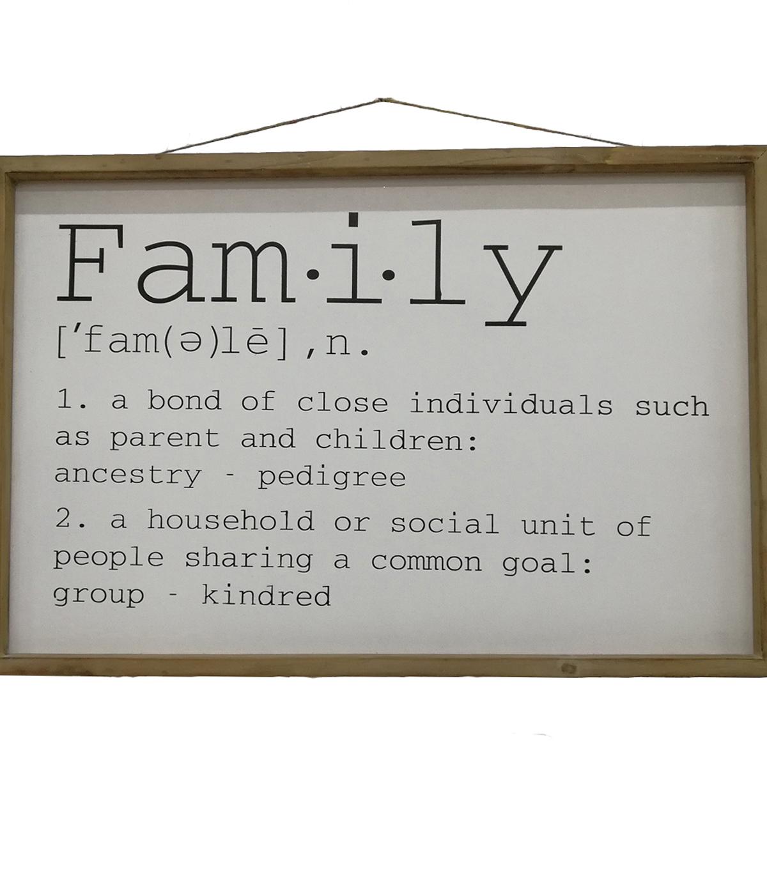 Simply Autumn Wall Decor Family Definition              Simply Autumn Wall Decor Family Definition by Simply Autumn