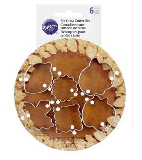 Wilton Mini Pie Cutter Set Autumn              Wilton Mini Pie Cutter Set Autumn by Wilton