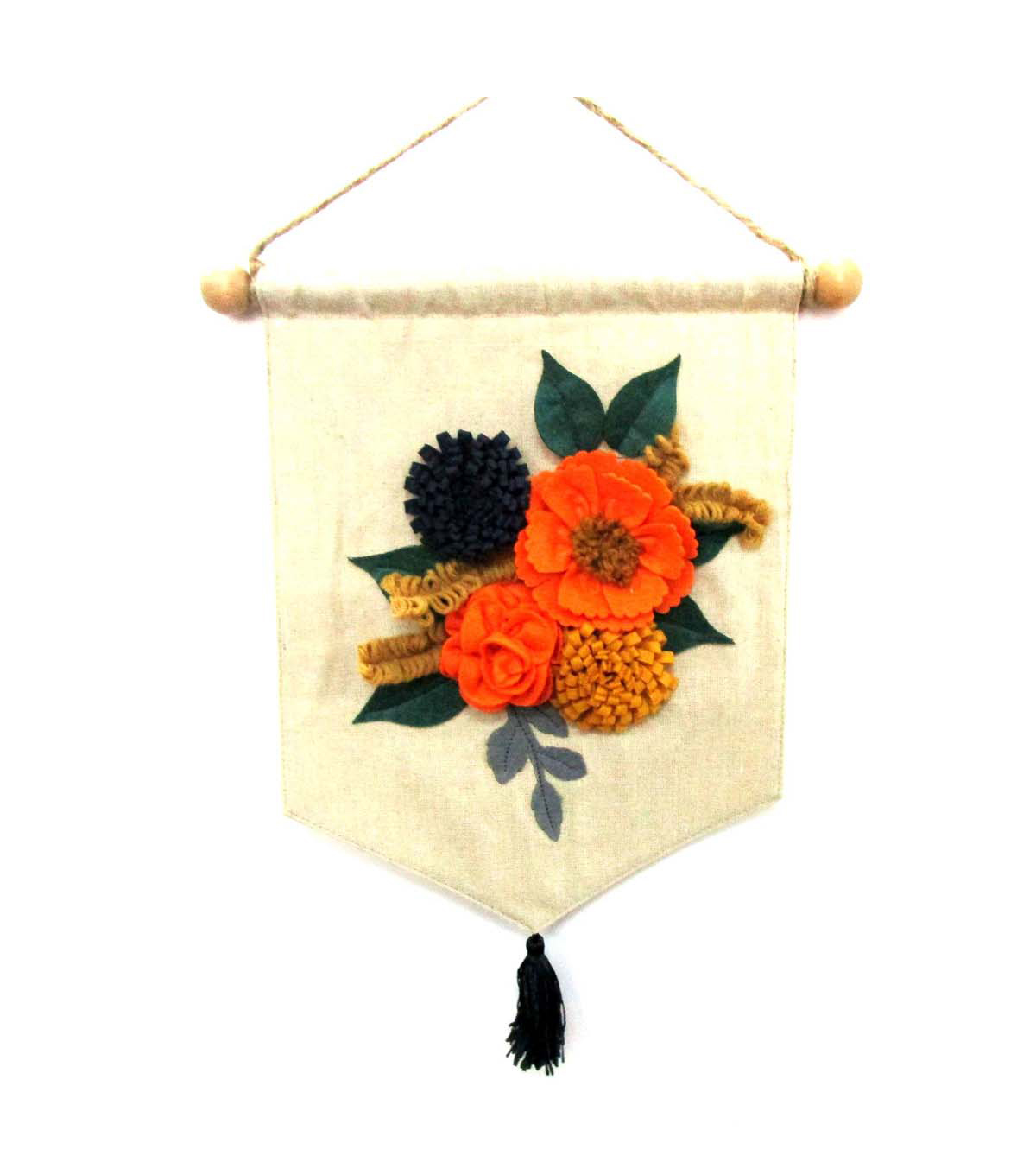 Simply Autumn Floral Linen Banner              Simply Autumn Floral Linen Banner by Simply Autumn