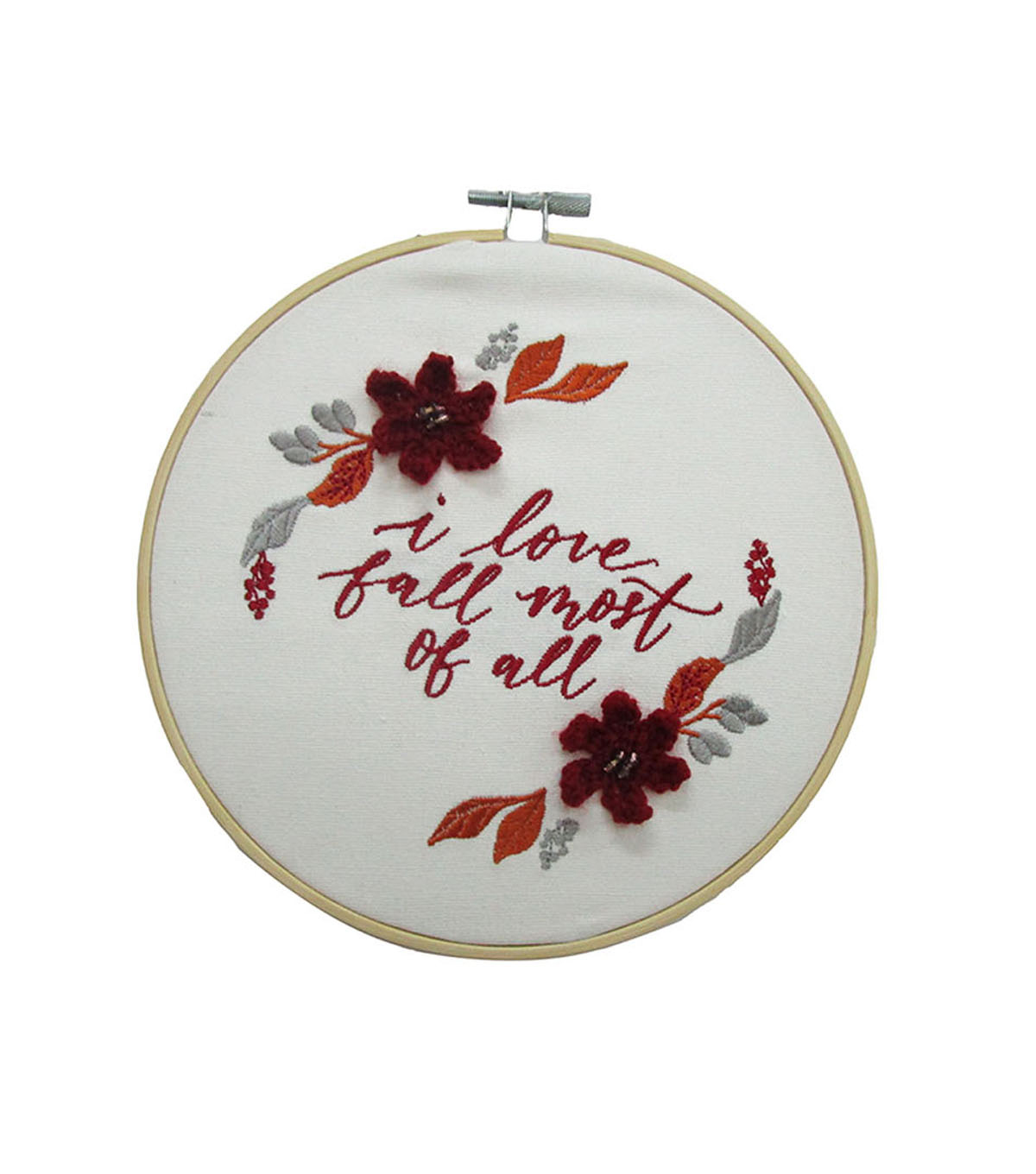 Simply Autumn Hoop I Love Fall Most Of All              Simply Autumn Hoop I Love Fall Most Of All by Simply Autumn
