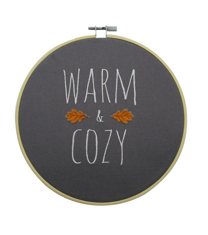 Simply Autumn Hoop Warm & Cozy              Simply Autumn Hoop Warm & Cozy by Simply Autumn