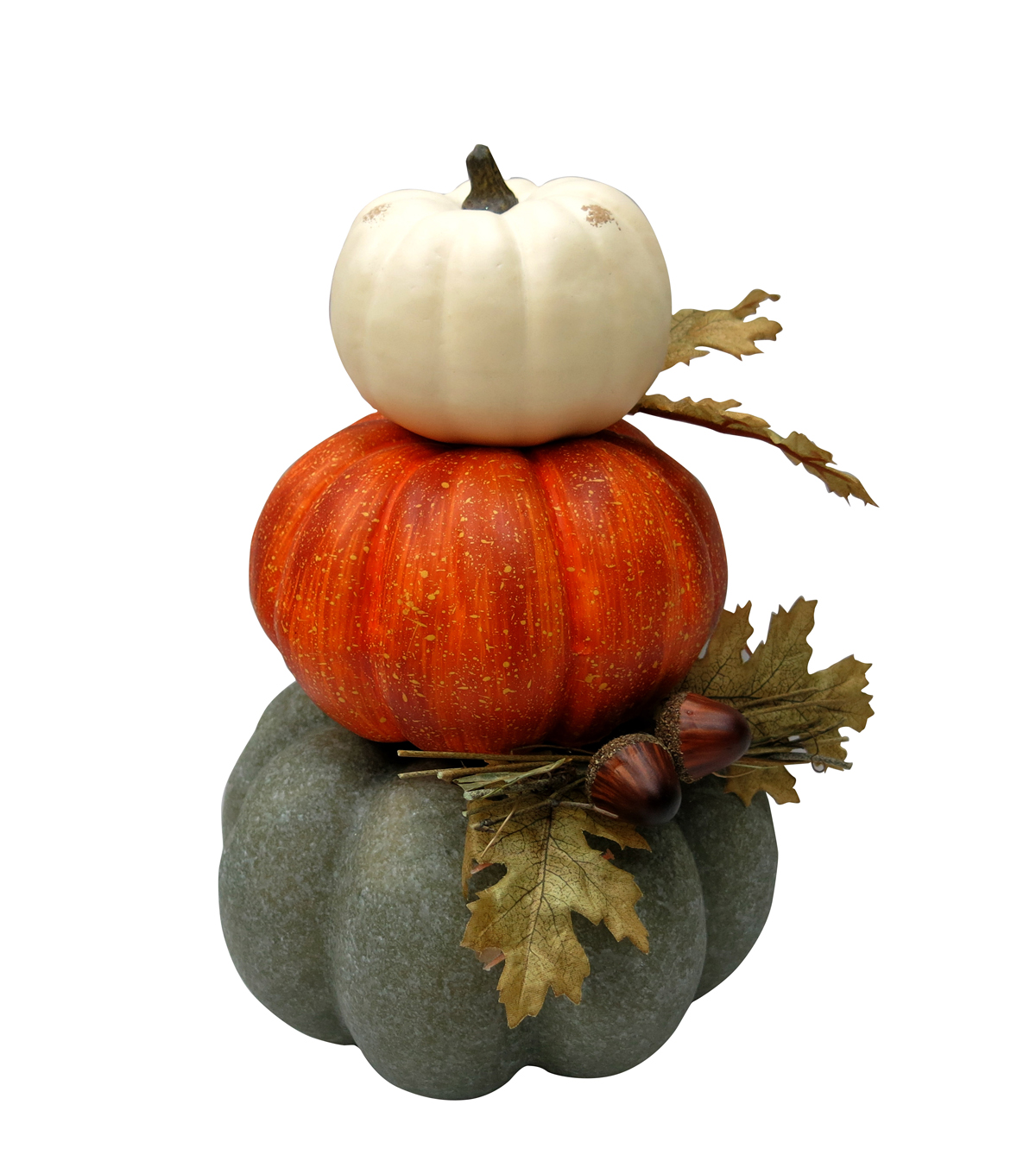 Simply Autumn 3 Color Stacked Pumpkins              Simply Autumn 3 Color Stacked Pumpkins by Simply Autumn
