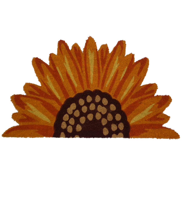 Simply Autumn Sunflower Shaped Coir Mat              Simply Autumn Sunflower Shaped Coir Mat by Simply Autumn
