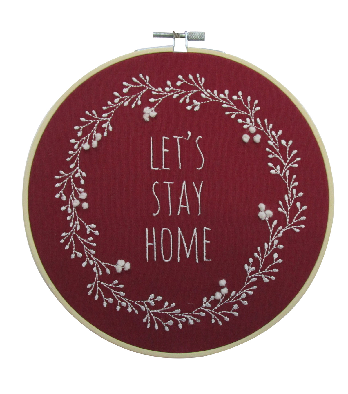Simply Autumn Hoop Lets Stay Home              Simply Autumn Hoop Lets Stay Home by Simply Autumn