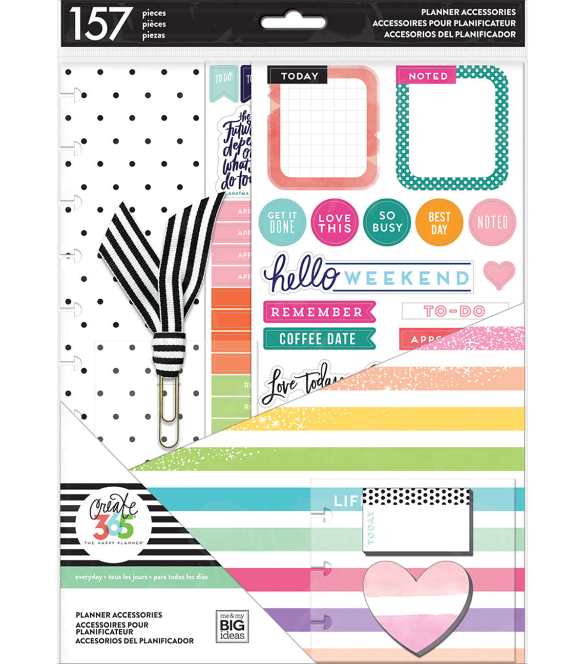 The Happy Planner Big Accessory Pack Life Is Lovely                      The Happy Planner Big Accessory Pack Life Is Lovely by The Happy Planner