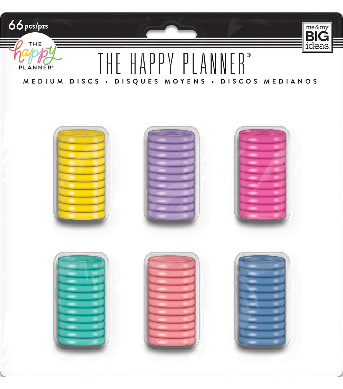The Happy Planner Value Pack Medium Discs                      The Happy Planner Value Pack Medium Discs by The Happy Planner