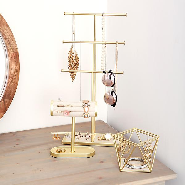 Umbra Gold Jewelry Storage Kit by Container Store
