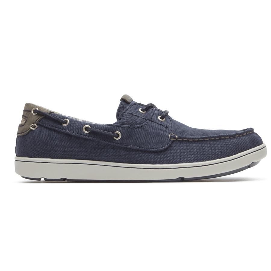 Rockport Mens Gryffen 2-Eye Boat Shoes