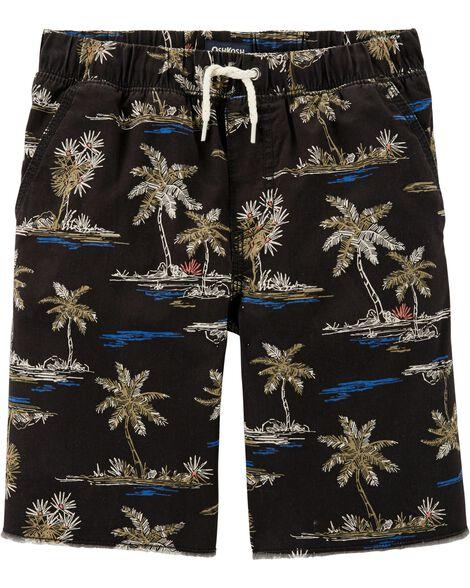 Palm Tree Twill Shorts by Oshkosh