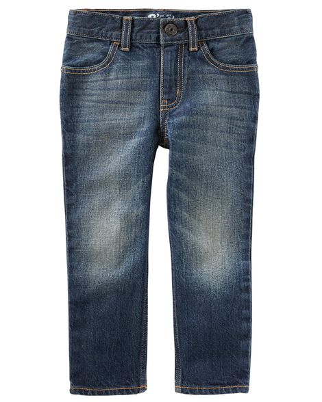 Straight Jeans   Authentic Tinted Wash by Oshkosh
